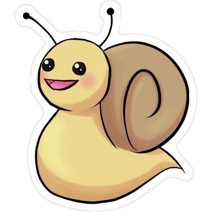Mr Snail Sticker Mockup