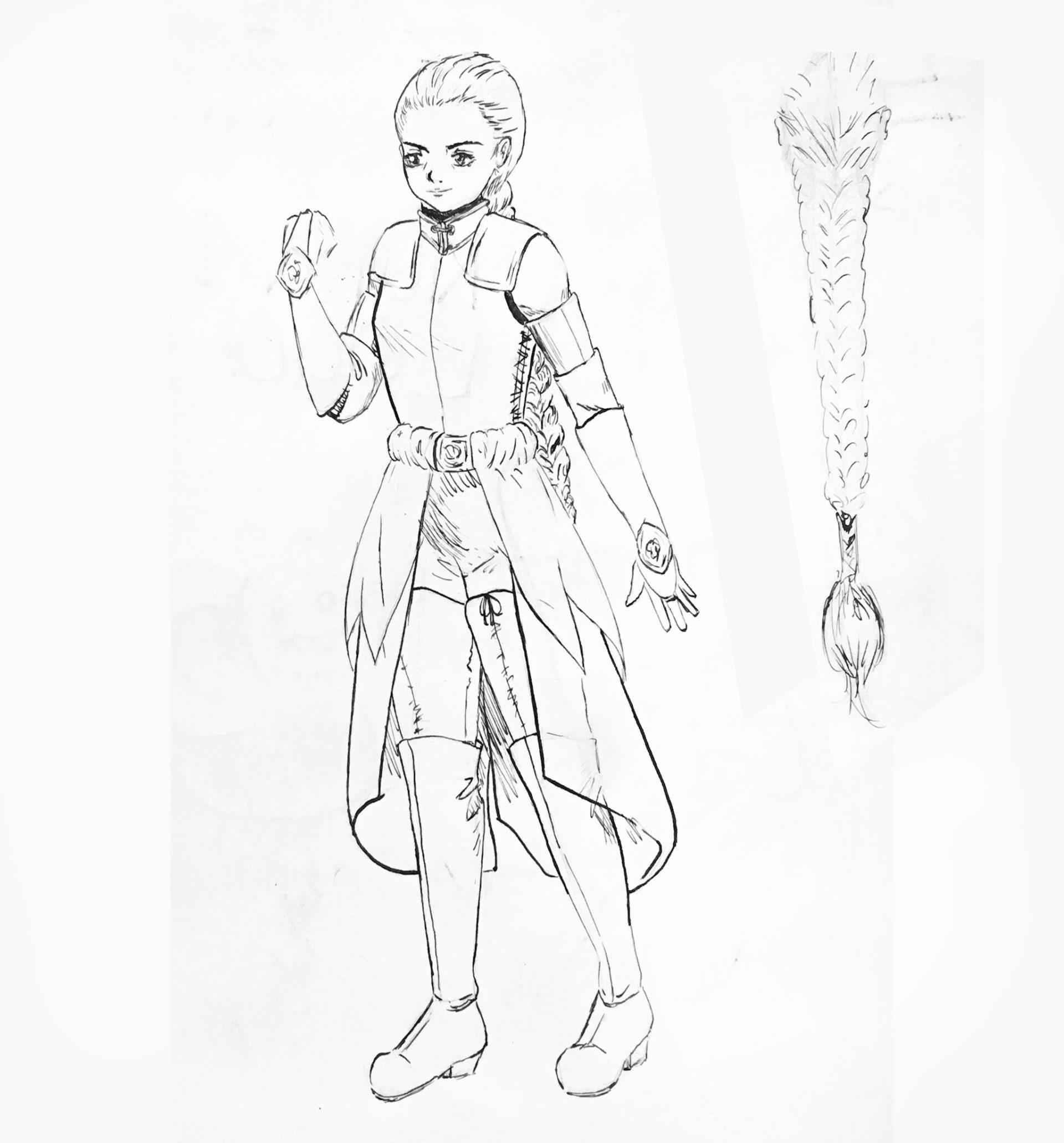 Reya Armor Concept