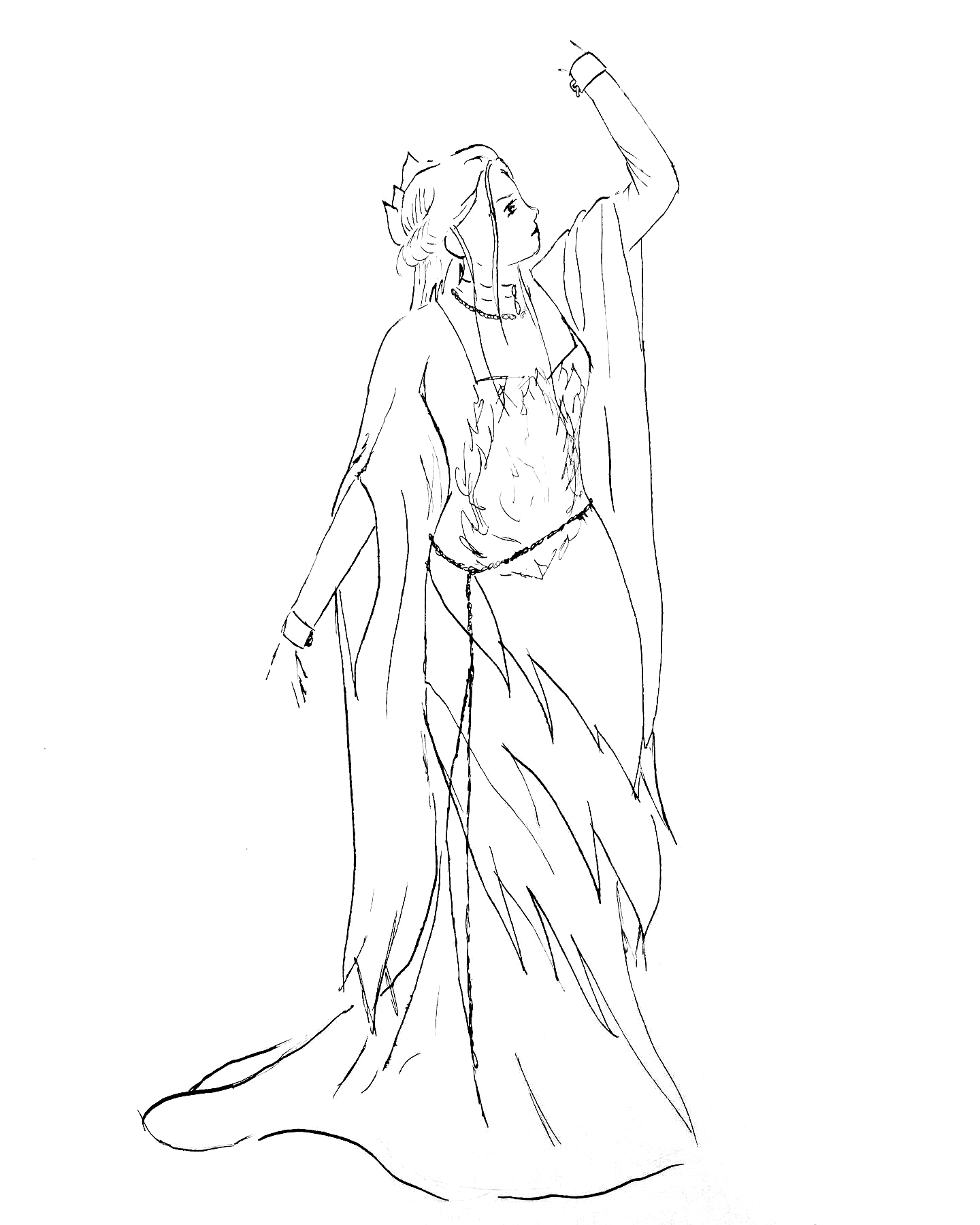 Reya Dark Outfit Concept