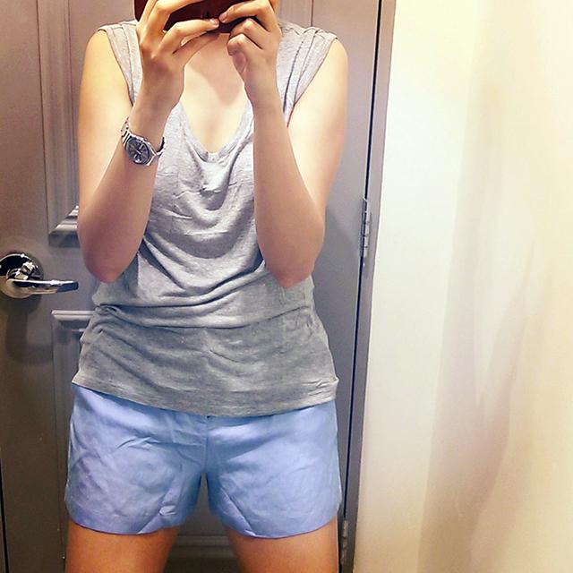 Forever21 Saket Linen Shorts