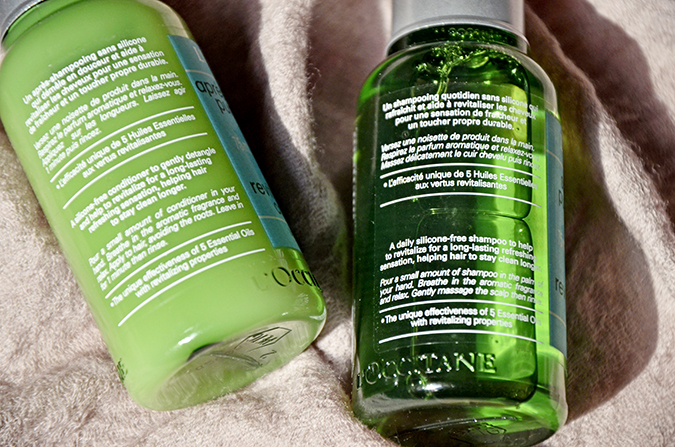 Monsoon Hair Care by L'OCCITANE - Shampoo & Conditioner