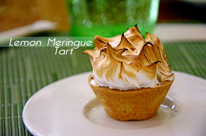 The Spa Getaway - Westin Sohna Resort & Spa - Lemon Meringue Tart