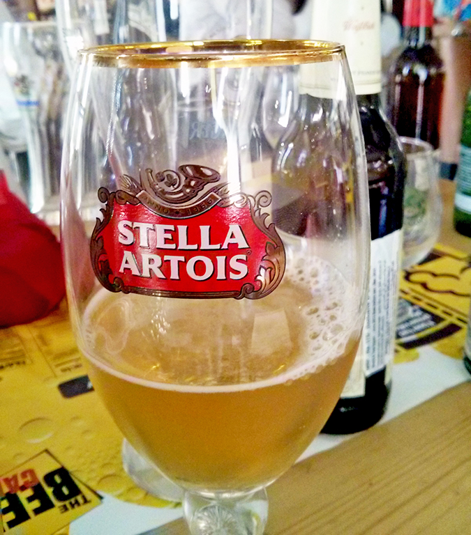 BrewsCruise at The Beer Cafe - Estrella