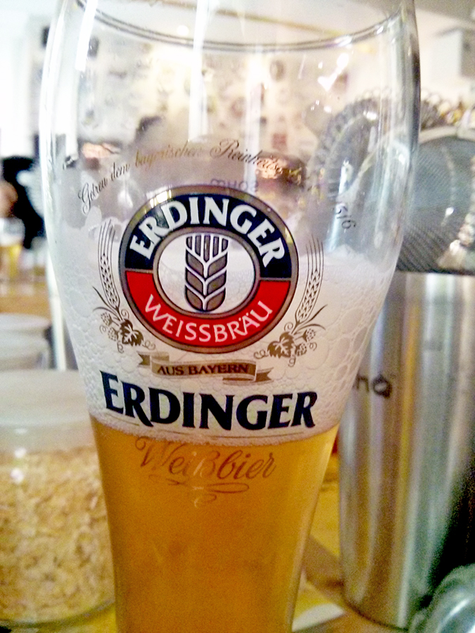 BrewsCruise at The Beer Cafe - Erdinger