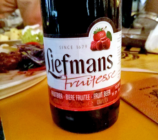 BrewsCruise at The Beer Cafe - Liefmans
