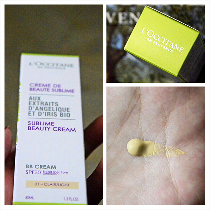 L'OCCITANE Sublime Beauty Cream - BB Cream - Texture