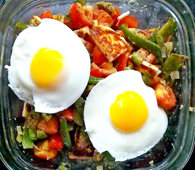 Dinner Salad - Looking Back { October }
