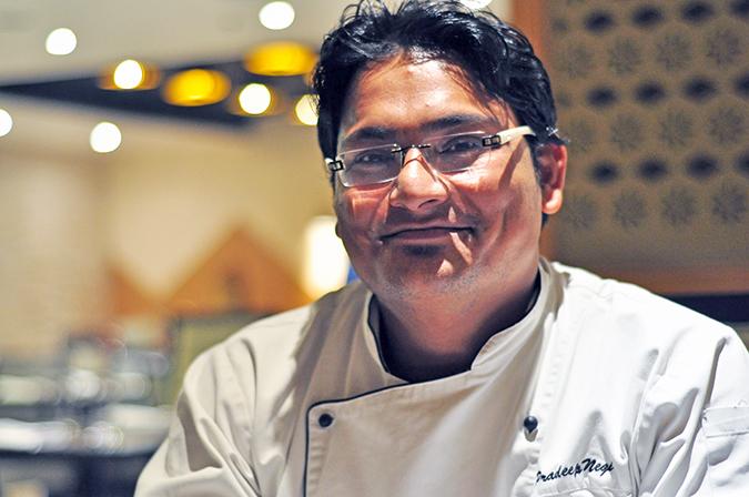 { Made in Punjab } :: Restaurant by Zorawar Kalra | www.akanksharedhu | Chef Pradeep Negi