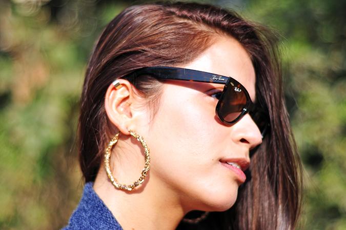 Futurist Blue - { #TieUpsStyle } | www.akanksharedhu.com | Earrings