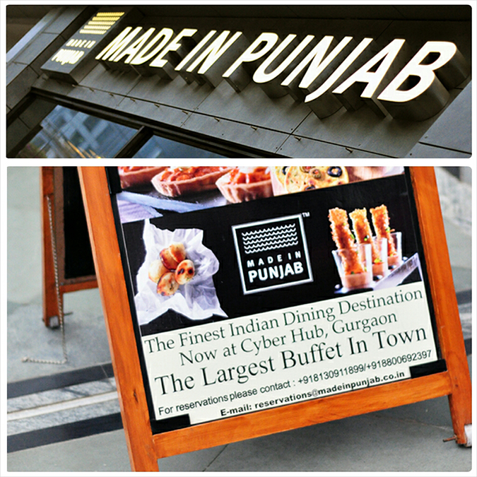 { Made in Punjab } :: Restaurant by Zorawar Kalra | www.akanksharedhu | Exterior