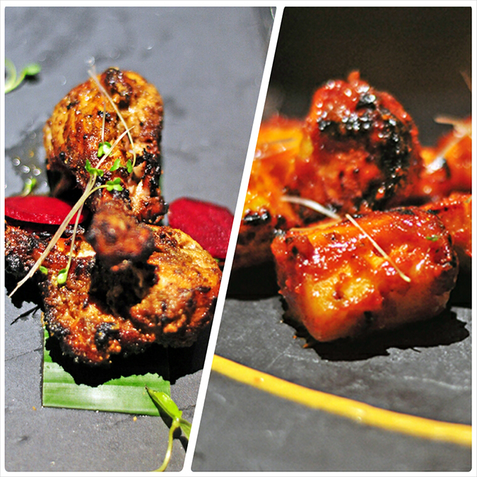 { Made in Punjab } :: Restaurant by Zorawar Kalra | www.akanksharedhu | Bhatti Murg, Tandoori fruits