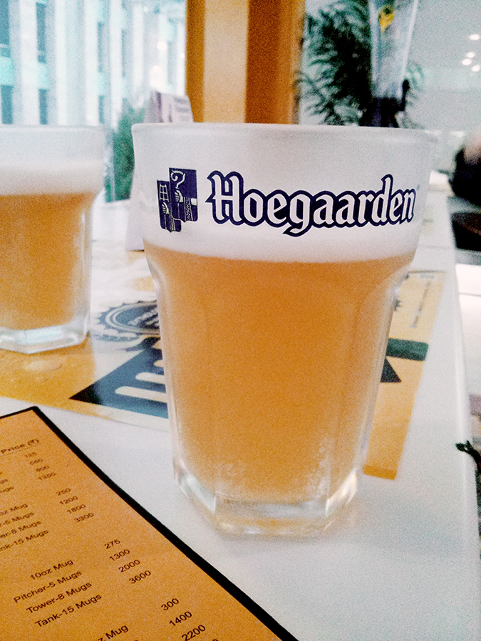 The Beer Cafe :: Gurgaon | www.akanksharedhu.com | Hoegaarden