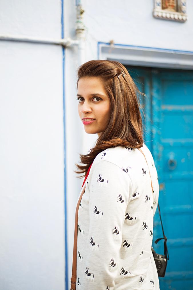 Jaipur | Le Méridien | Day 02 - Jaipur Literature Festival | www.akanksharedhu.com | outfit half
