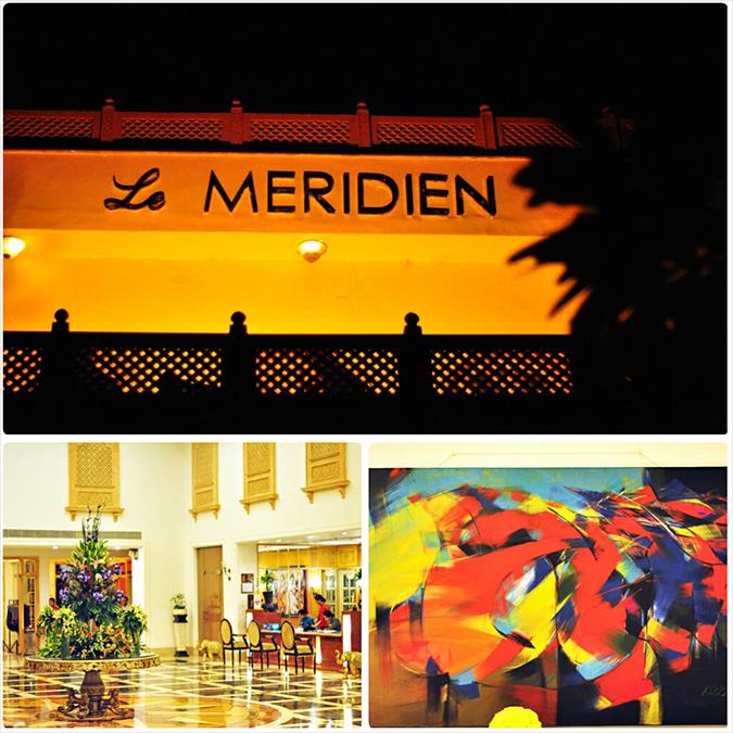 Jaipur | Le Méridien | Day 01 | www.akanksharedhu.com | Hotel at Night