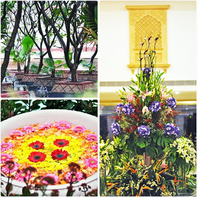 Jaipur | Le Méridien | Day 01 | www.akanksharedhu.com | Floral Arrangements