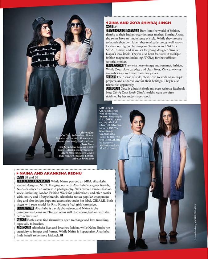 Grazia Magazine { February 2014 } | www.akanksharedhu.com | Page