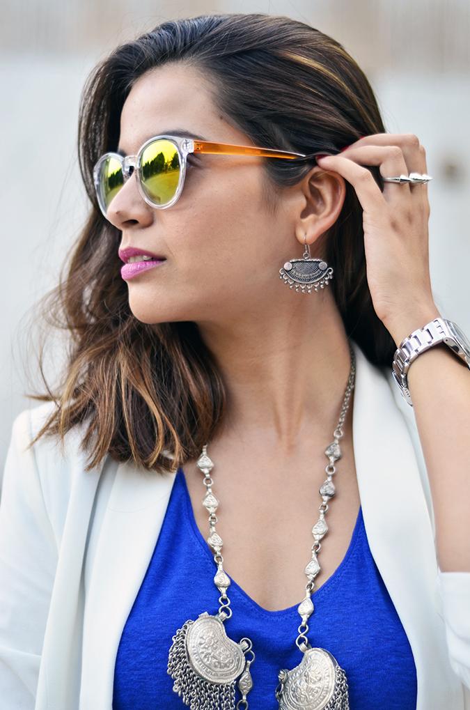 Day02 | WIFW | Mono-Cobalt | www.akanksharedhu.com | accessories