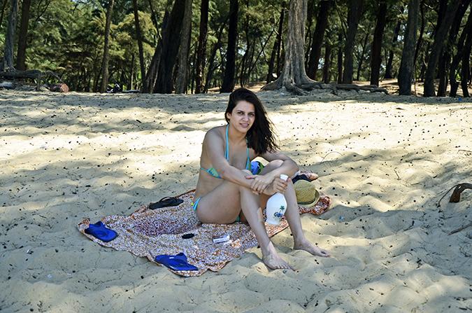 Paradise Beach | Goa | www.akanksharedhu.com | bikini