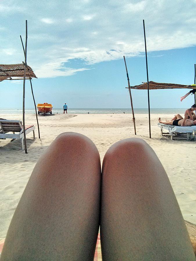 Morjim | Goa | www.akanksharedhu.com | Morjim Beach Hot dogs