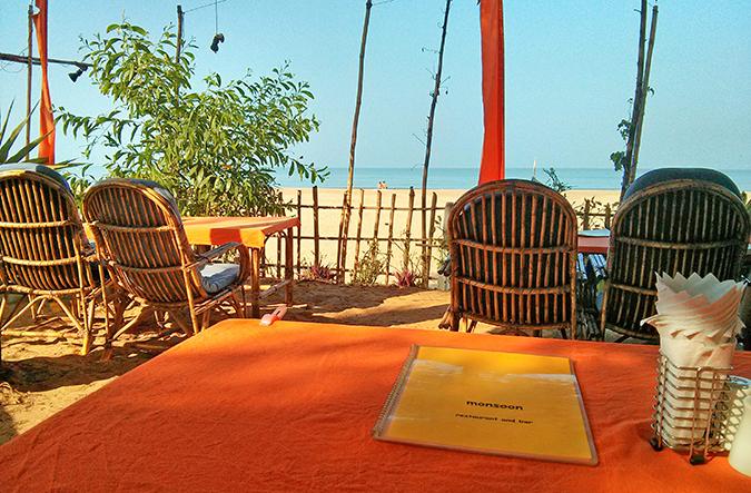 Agonda Beach | Goa | www.akanksharedhu.com | menu & view