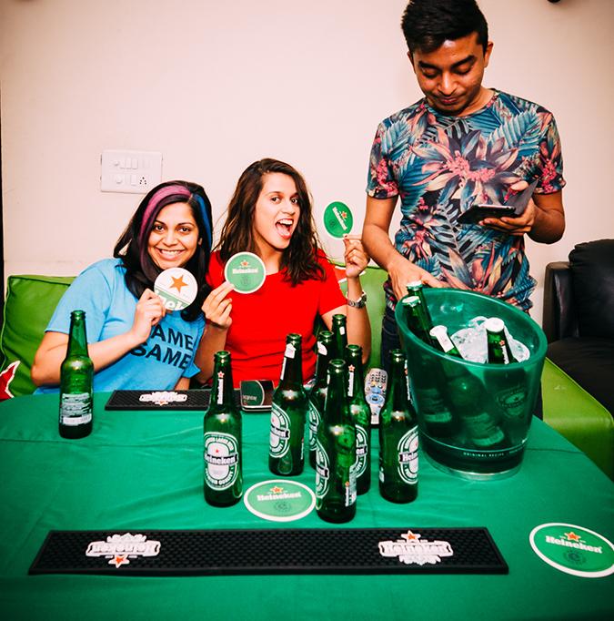 Heineken | #ShareTheSofa | www.akanksharedhu.com | 3 with pratz standing