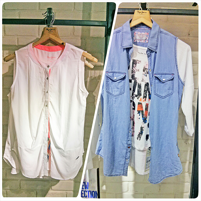 Pepe Jeans London | www.akanksharedhu.com | White top + denim vest