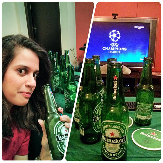Heineken | #ShareTheSofa | www.akanksharedhu.com | selfie & match branding