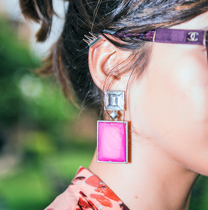 Go Bright or Go Home | www.akanksharedhu.com | earrings