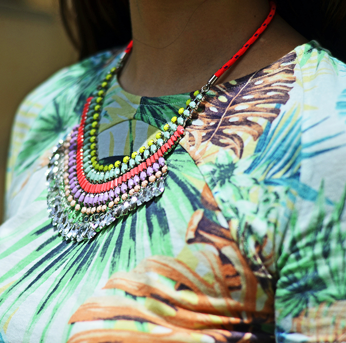 { Tropical Heat Wave } | www.akanksharedhu.com | necklace