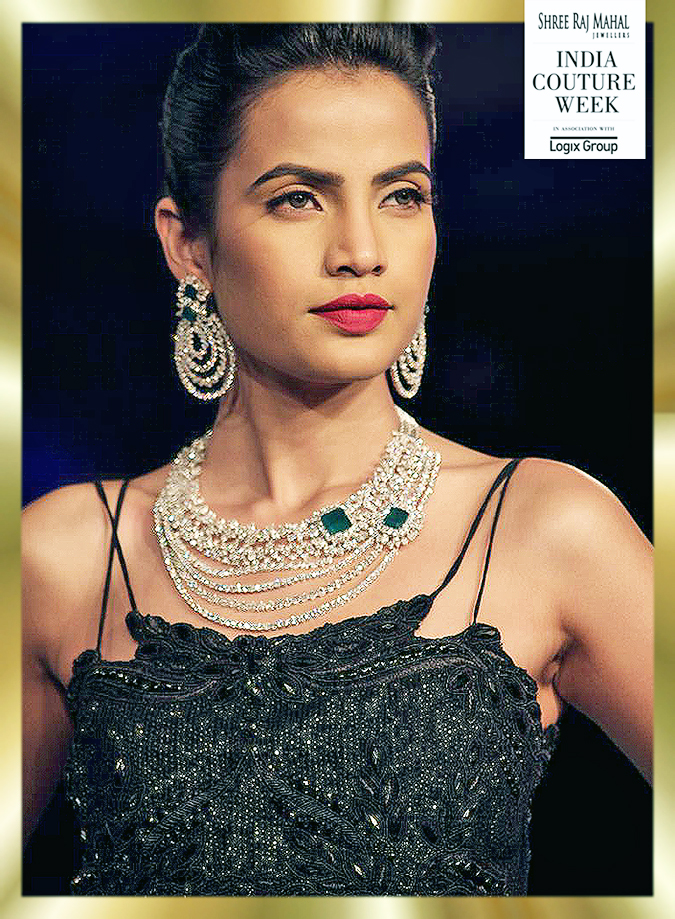 India Couture Week 2014 | Shree Raj Mahal Jewellers | ICW2014 | Emerald Set