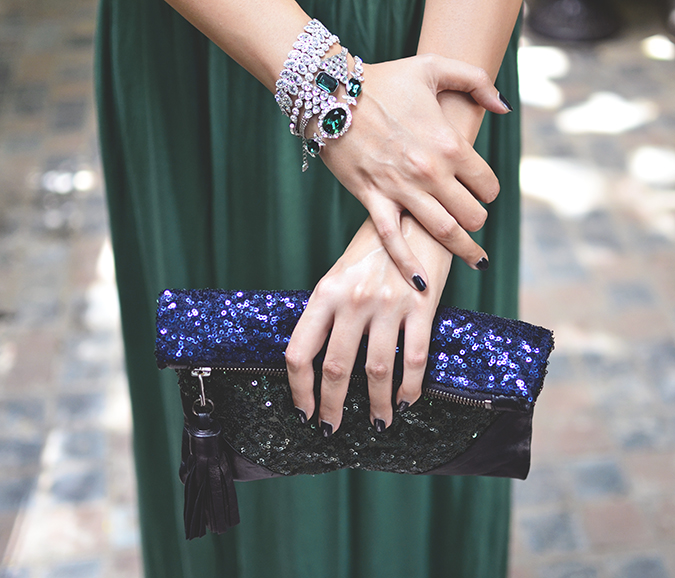 Swarovski | #StyleYourWayToParis | www.akanksharedhu.com | bag bracelets entrance