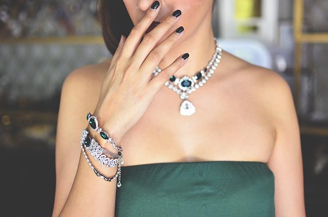 Swarovski | #StyleYourWayToParis | www.akanksharedhu.com | fingers on lips