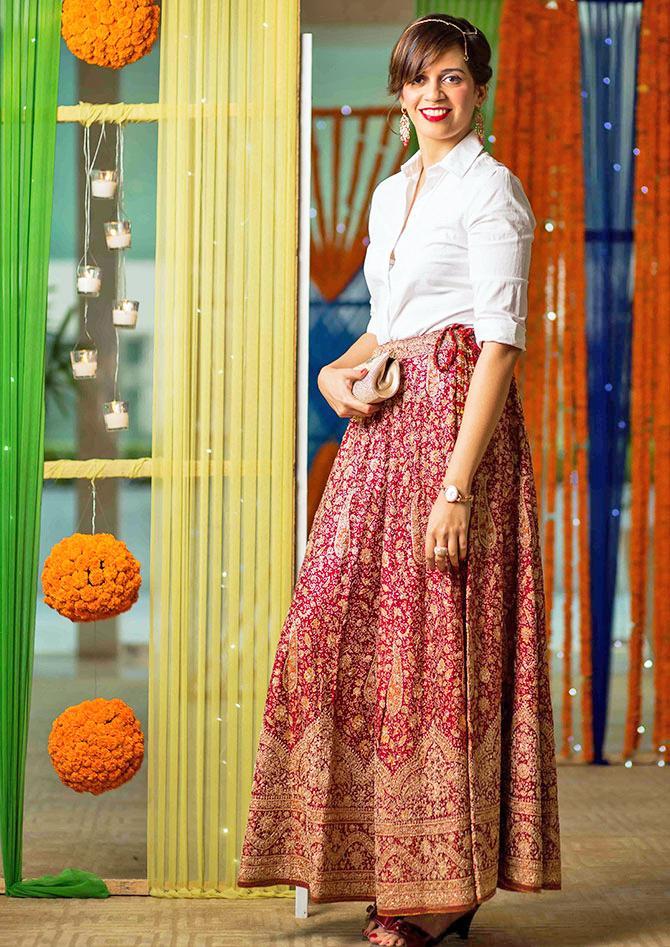 Swarovski | #StyleYourWayToParis | www.akanksharedhu.com | festive outfit