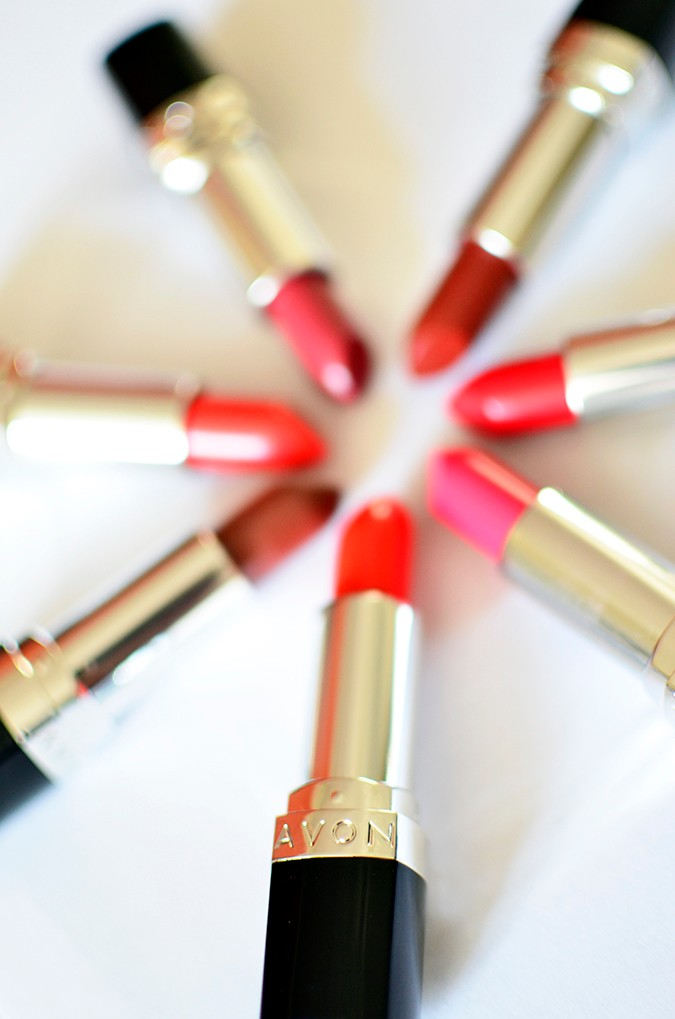 Avon India | www.akanksharedhu.com | wheel of lipsticks