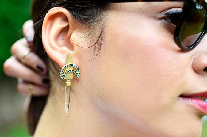 Crystal Chaos | The Buckhouse Refinery | www.akanksharedhu.com | earrings