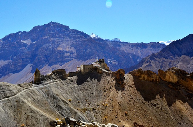 Raid de Himalaya | www.akanksharedhu.com | dhankar monastery