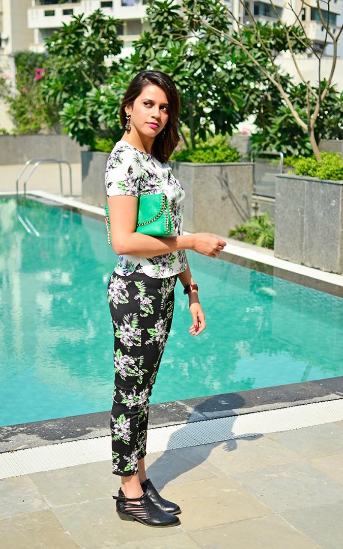 Hibiscus Pair | #akanksharedhu | full side
