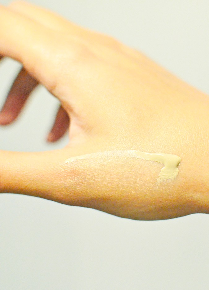 Current Beauty Faves | Luxola | www.akanksharedhu.com | bb cream on hand1