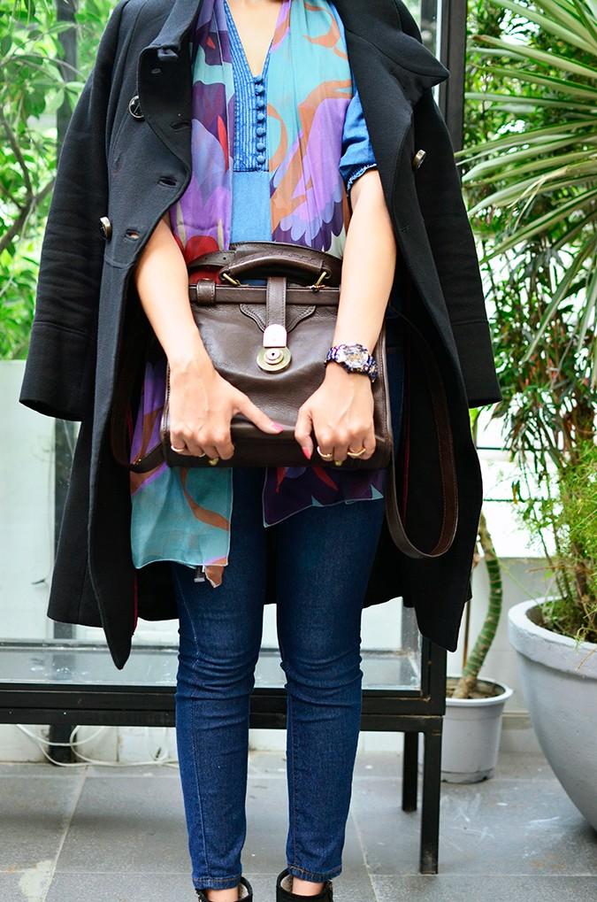 True Blue | www.akanksharedhu.com | front with bag no face