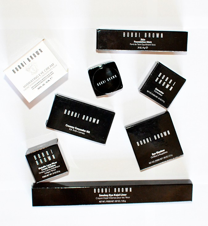 Perfect Skin Makeup Lesson | Bobbi Brown | www.akanksharedhu.com | products in packaging