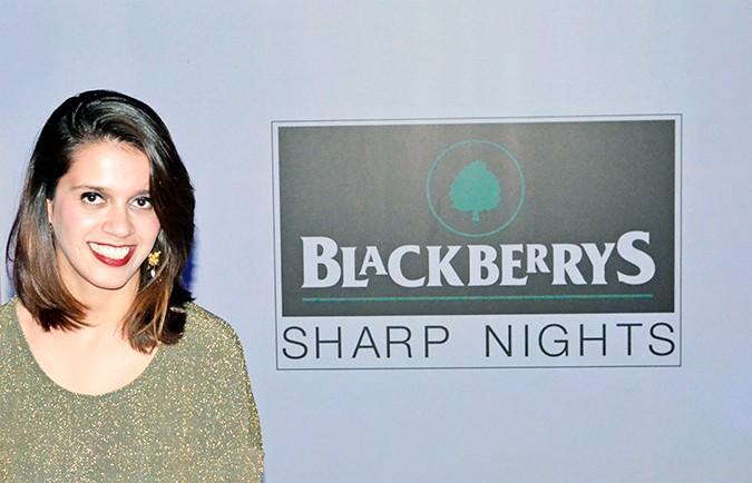 Masters of World Music | Blackberrys Sharp Nights | Akanksha Redhu | at the event