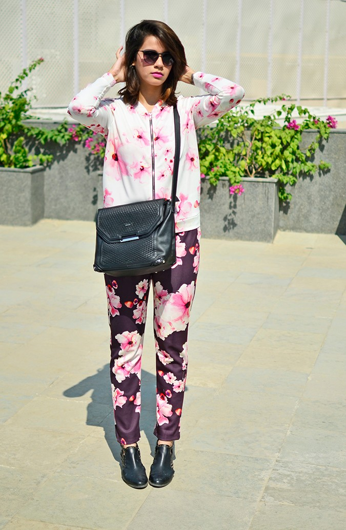 Sunny Winter Florals | Akanksha Redhu | full front jacket