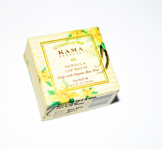 Current Favorites | Kama Ayurveda | Akanksha Redhu | lip balm packaging