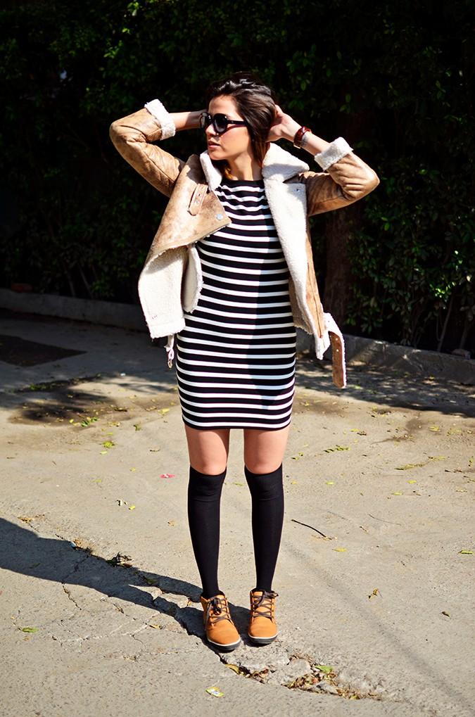 Stripes | Akanksha Redhu | full front both arms up
