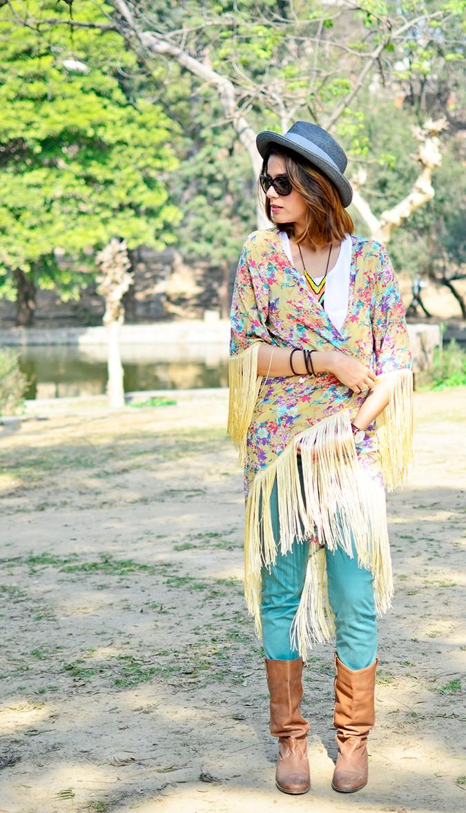 Hippie Kimono | Akanksha Redhu | full front overlapping kimono