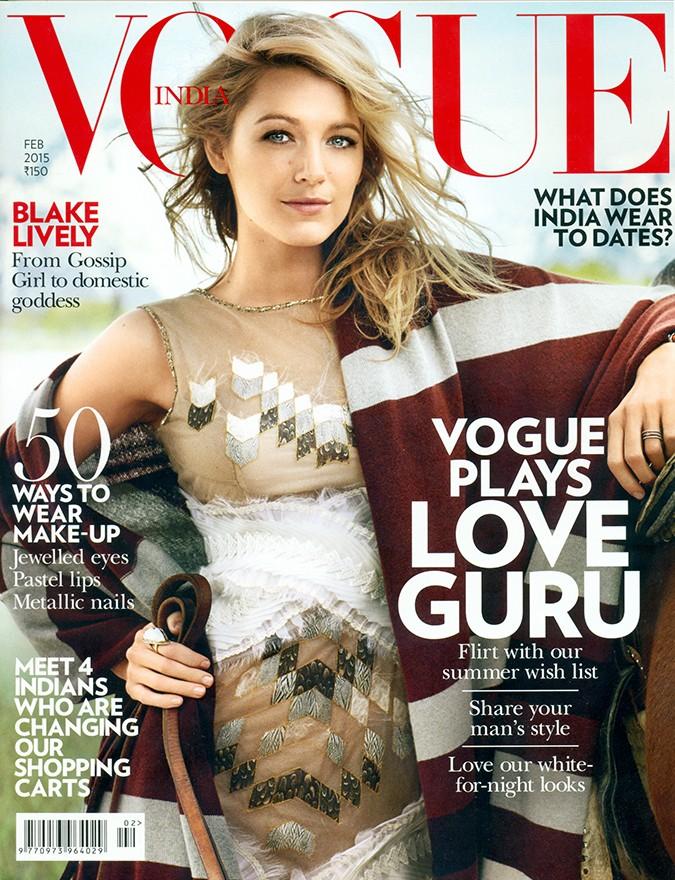 Vogue India | Feb 2015 | Akanksha Redhu | cover