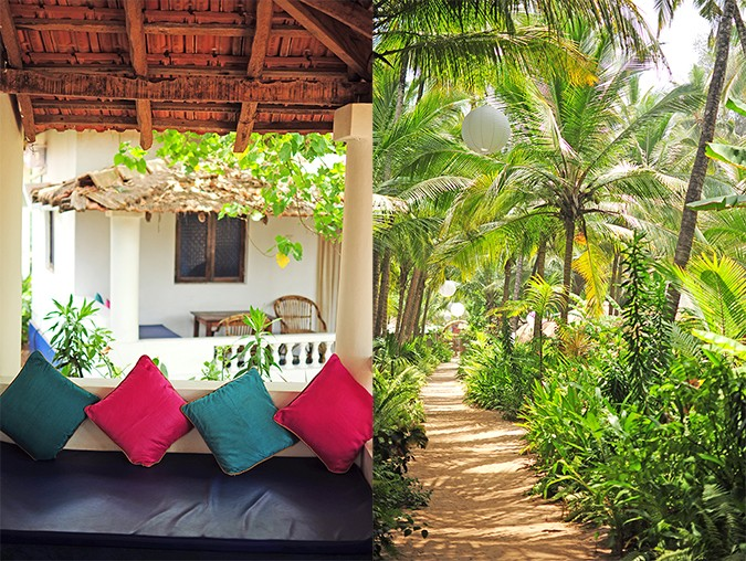 Yab Yum   Goa   Tripzuki   Akanksha Redhu   veranda and path