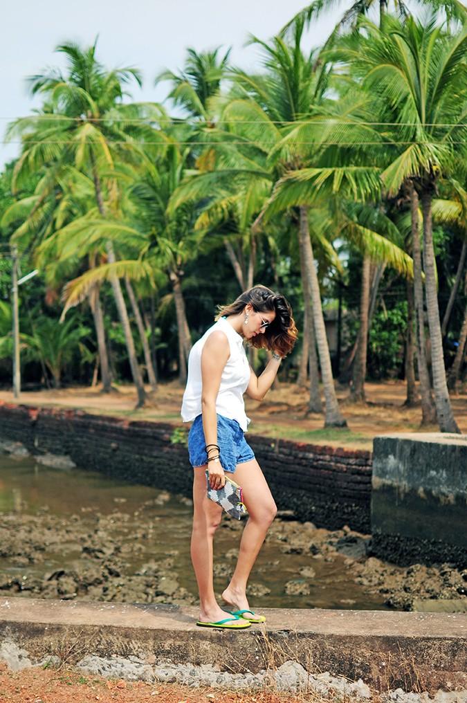 Blanc Frais | Goa | Akanksha Redhu | full side far