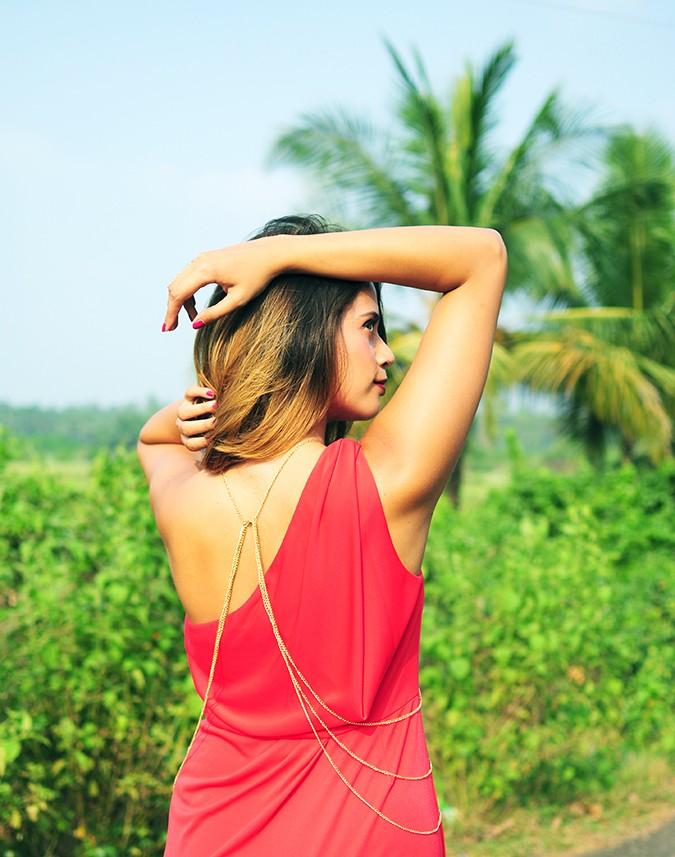 Coral Streets | BCBGMAXAZRIA | Akanksha Redhu | half back