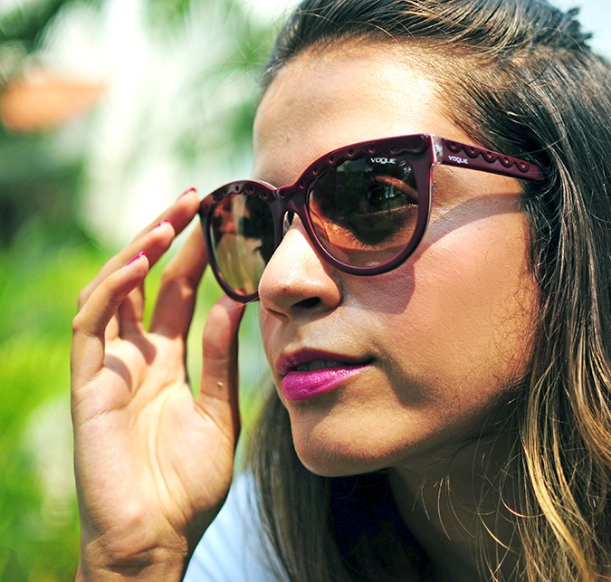 Hand-Painted Goodness | RangRage | Akanksha Redhu | Vogue Sunglasses on face